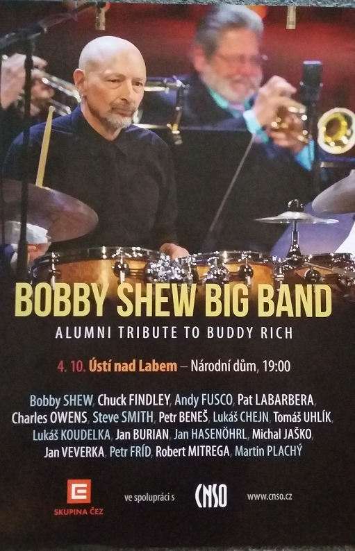 BOBBY SHEW BIG BAND- ALUMNI TRIBUTE TO BUDDY RICH